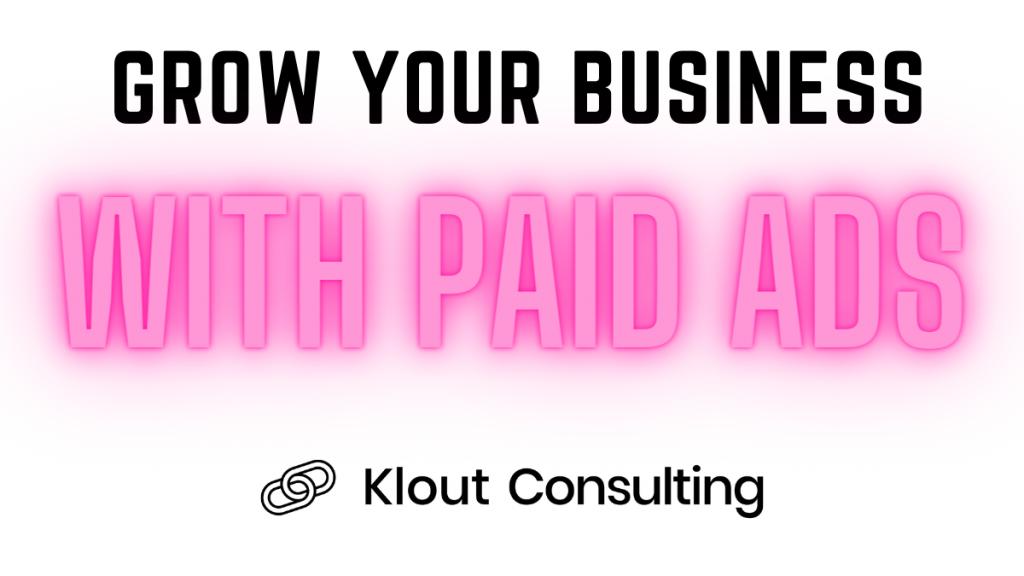Klout Facebook Course
